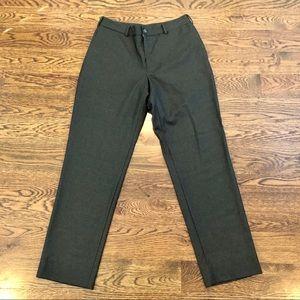 New men's Italian wool olive dress pant-J. Hilburn